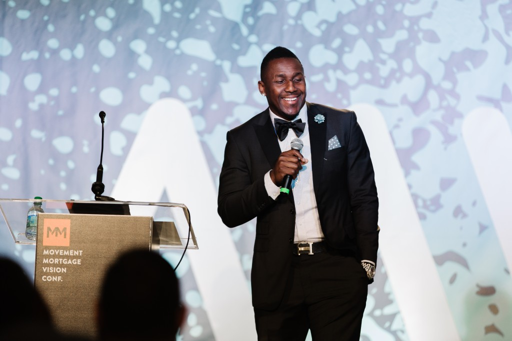 Thomas Davis inspired a room of sales leaders with his life story.