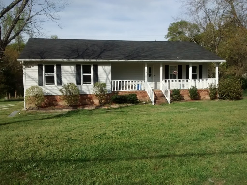 Phillip and Samantha Knowlton chose to purchase a 34-year-old home in the country in order to fit what they wanted in their budget.